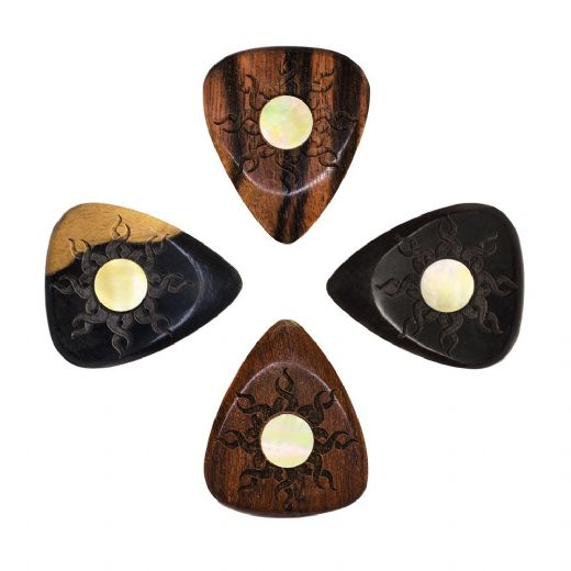 Sun Tones Mixed Pack of 4 Guitar Picks